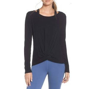 ZELLA KNOT A CHANCE YOGA TWIST FRONT TOP XXL